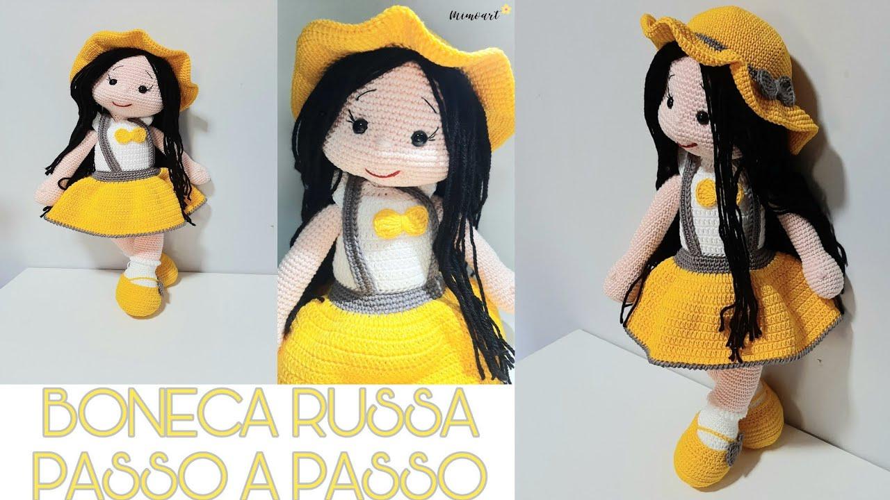 Novo] Renata Sarochenko - base de boneca - russo-tricô e crochê ... | 720x1280
