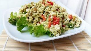 ВКУСНЫЙ СЫРОЙ САЛАТИК ИЗ ЦВЕТНОЙ КАПУСТЫ   DELICIOUS RAW Cauliflower salad