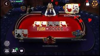 Zynga texas holdem poker WIN 4.8T  trillion
