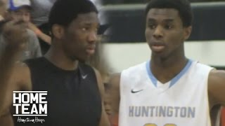 Joel Embiid Vs. Andrew Wiggins In High School