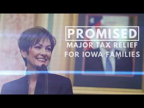 Kim Reynolds - Promises Kept, Taxes Cut