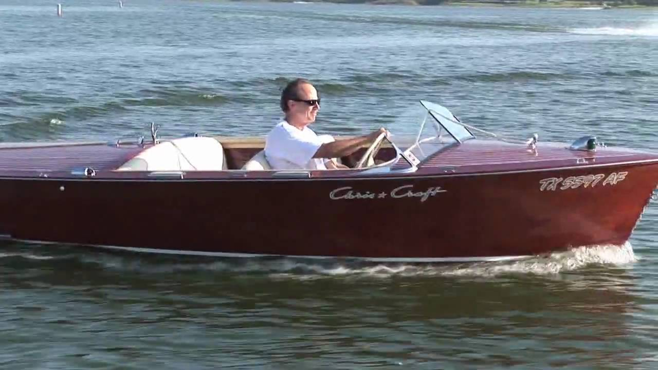 Quot Princess B Quot 1957 Chris Craft Runabout Youtube