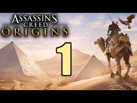 Assassin's Creed Origins Gameplay German #1 Neues Spiel, neues Glück! | Let's Play Deutsch