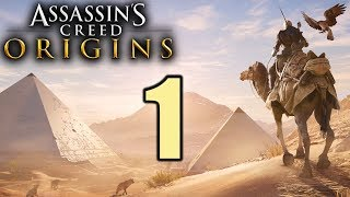Assassin's Creed Origins Gameplay German #1 Neues Spiel, neues Glück! | Let's Play Deutsch