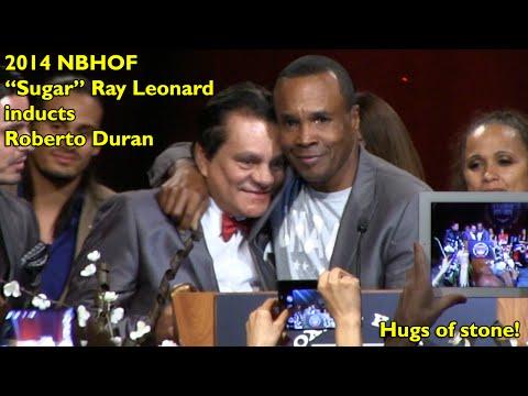 2014 NVBHOF: Sugar Ray Leonard inducts Roberto Duran