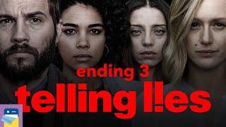 Telling Lies: Ending 3 & iOS / Steam Gameplay (by Sam Barlow / Annapurna Interactive)
