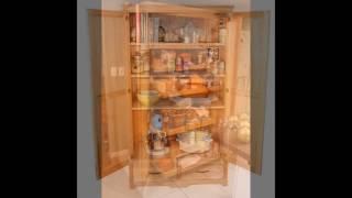 Gambar cover free standing kitchen cabinet storage