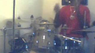 Rick Ross-ten jesus pieces (live drum cover)by ghost the drummer