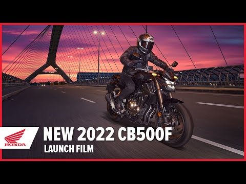 New 2022 CB500F Launch Film