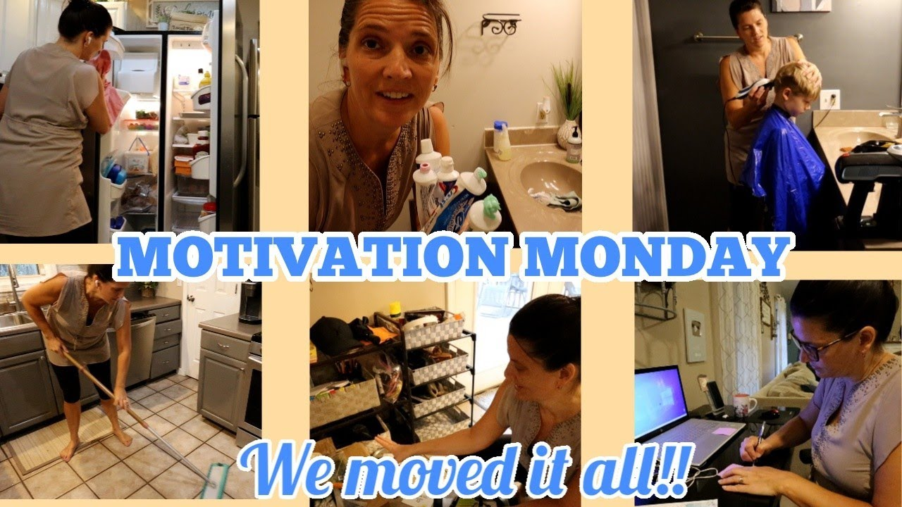 Motivation Monday | We moved all of it!