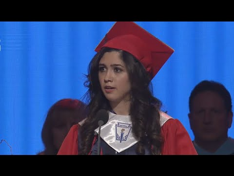 speech in cat graduation