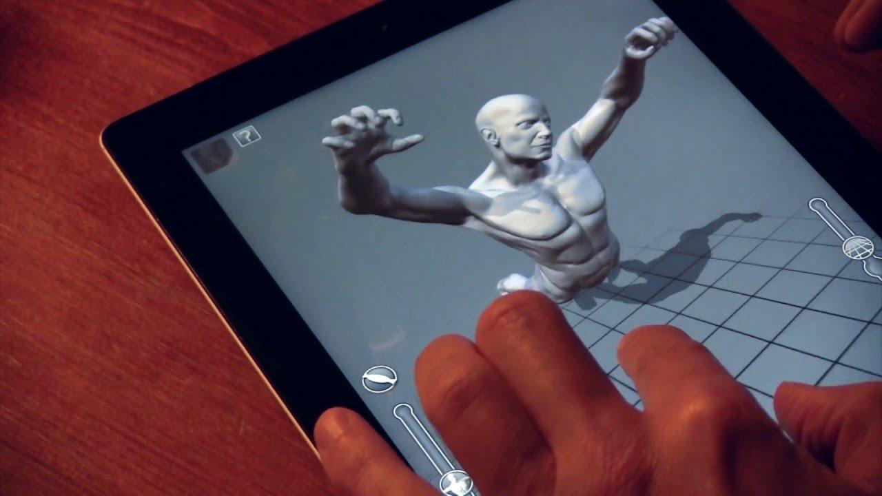 ARTPOSE: La mejor App de anatomía para artistas - YouTube