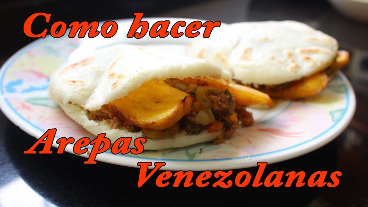 como hacer arepa venezolana