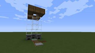 как сделать лифт в minecraft 1.8