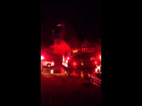 Fire on Teal Park Ln