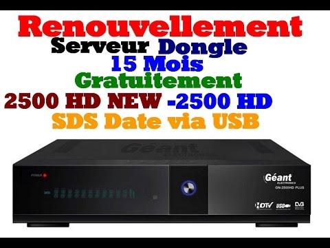 [TUTO Renouvler 15 Mois Gratuitement Géant 2500 HD NEW/2500 HD