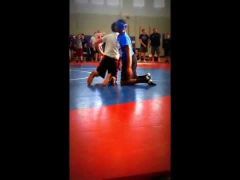 Randolph Community Middle School Vs. Norton Middle School Wrestling