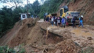 Aftermath of typhoon Mangkhut reveals dangers of mining in Philippines