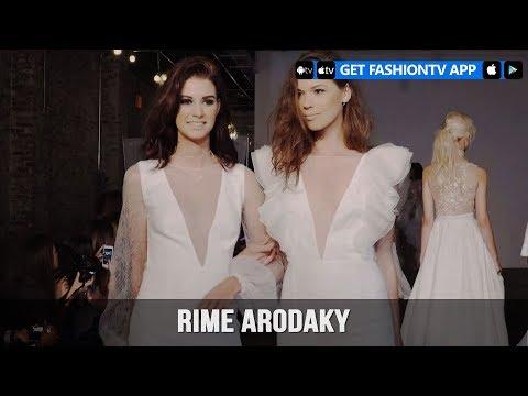 New York Bridal Fashion Week 2018 - Rime Arodaky   FashionTV