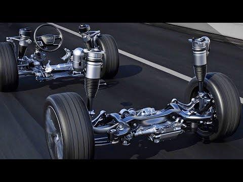Audi A8 (2018) Dynamic All-Wheel Steering [YOUCAR]