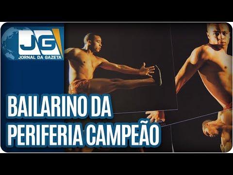 Bailarino da periferia é campeão mundial