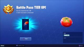 hit with a tomato 15m away or more Fortnite season 6 week 3 challenge