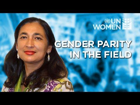 The Importance of Gender Parity in Field Settings | Deputy Executive Director Anita Bhatia (Short)