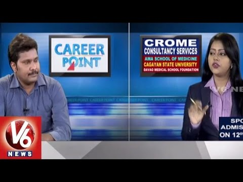 Career Point | Study MBBS in Philippines | Crome Consultancy l V6 News
