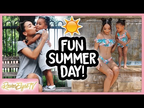 Fun Summer Day Routine with my Toddler! | MOM VLOG