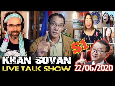 KHAN SOVAN Live Talk Show - 22/06/2020 | Cambodia Hot News Politics Today | Khmer Mjas Srok смотреть видео онлайн
