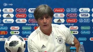 DFB-Pressekonferenz mit Joachim Löw und Mario Gomez - 22.06.2018   FIFA WM 2018 – ZDF
