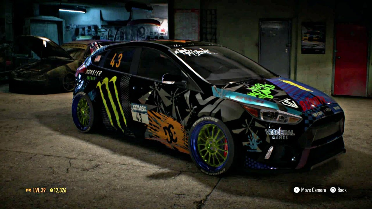 Rally Car Wallpapers Free Need For Speed 2015 Customize Ford Focus Monster Ken Block