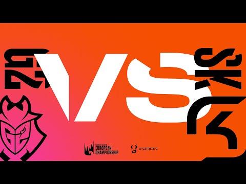 LEC Summer 2020 - G2 vs SK - W8D1