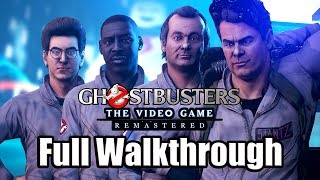 Ghostbusters: The Video Game Remastered (2019) Ps4 Pro Gameplay Full Walkthrough (no Commentary)