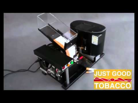 JGT II the updated and Improved Just Good Tobacco Machine