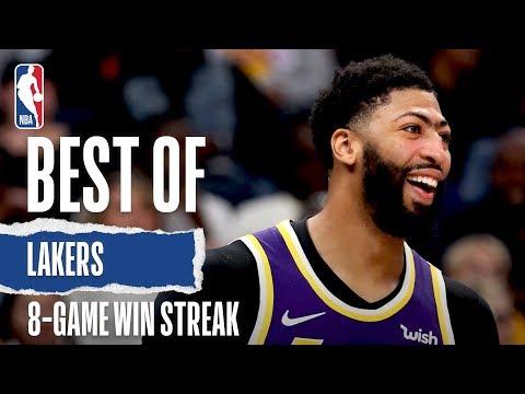 Best Of Lakers 8-Game Win Streak | 2019-20 NBA Season