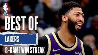 Best Of Lakers 8-Game Win Streak | 2019-20 NBA Season