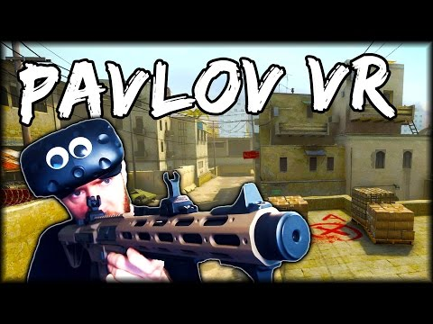 CS:GO DUST 2 IN VIRTUAL REALITY (Pavlov VR)