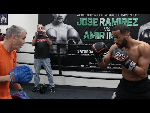 Full James DeGale mitts workout for Caleb Truax rematch