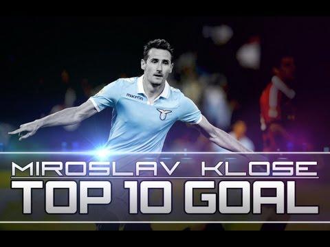 Miroslav Klose: Top 10 Goals - HD