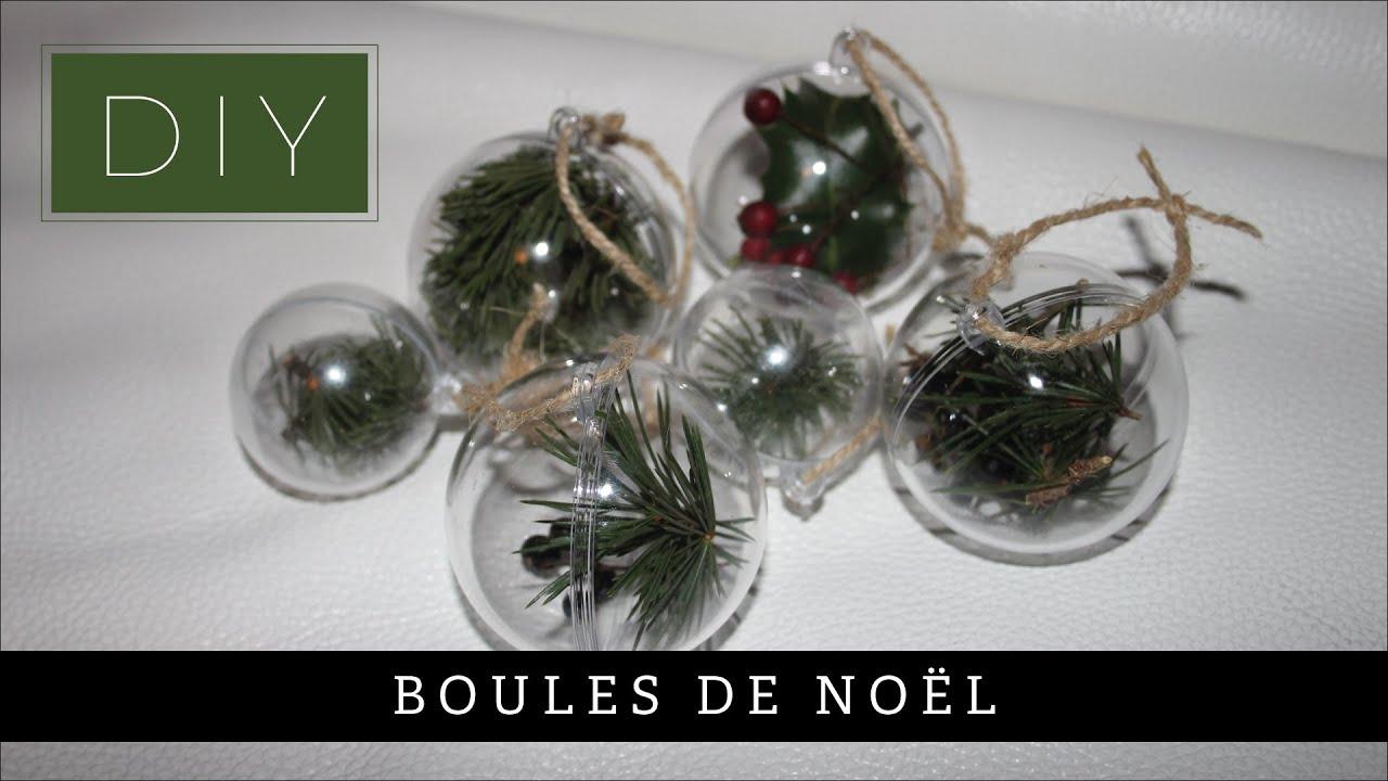 Boule De Noel Transparente A Decorer boules de noël transparentes - tuto diy - décoration de noël