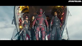 Deadpool 2 (2018) | X-Force Skydiving Scene 1080p