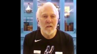 NBA coach Popovich issues emotional statement on death of George Floyd