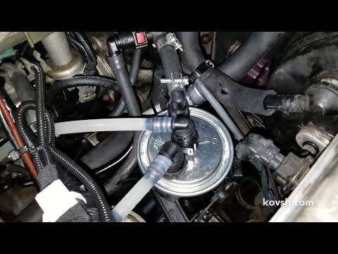 Почему мы глушим обратки подогрева в топливных фильтрах SsangYong Kyron 2.0d, D20DT