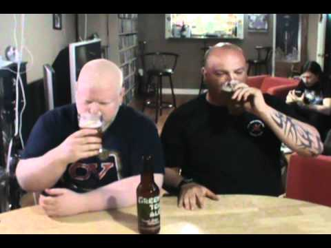 Green Tea Ale : Albino Rhno Beer Review