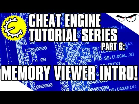Cheat Engine 6.4 Tutorial Part 6: How To Use Memory Viewer To Quickly Find Values