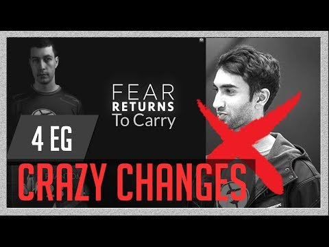 EG New Roster Change 2018, Why Universe Left team, Fear back to carry!