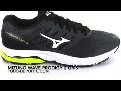 wholesale dealer fa73a 1d2ed Mizuno Wave Prodigy 2 Gris