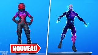NEW SKIN VOYAGEUR CORROMPU - EMOTE REBOND LUNAIRE! FORTNITE BATTLE ROYALE