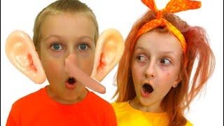 Tawaki kids pretending and cheating\ Pretend play